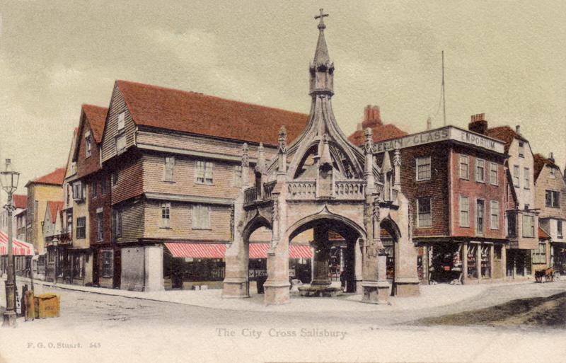 The City Cross. Salisbury