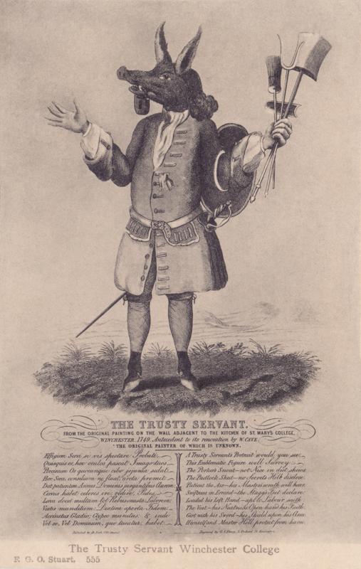 The Trusty Servant, Winchester College