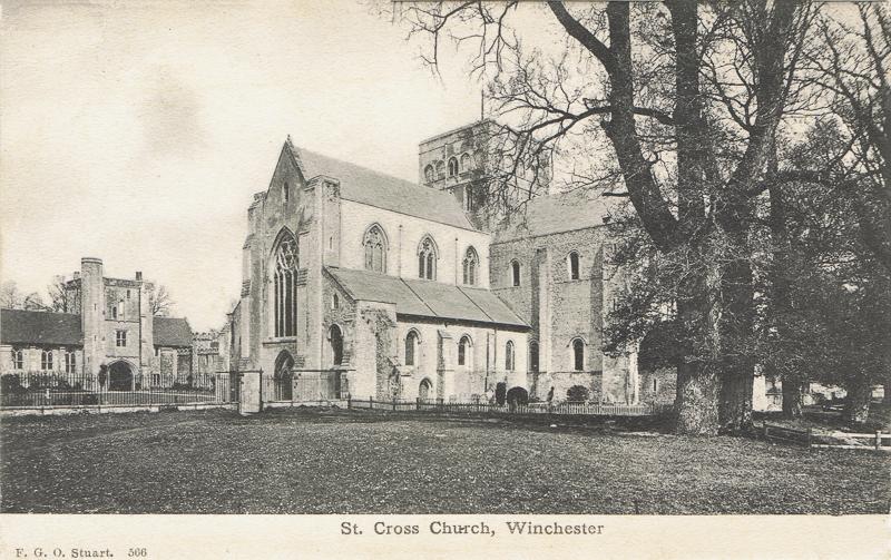 566  -  St Cross Church, Winchester