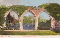 579  -  Beaulieu Abbey, New Forest