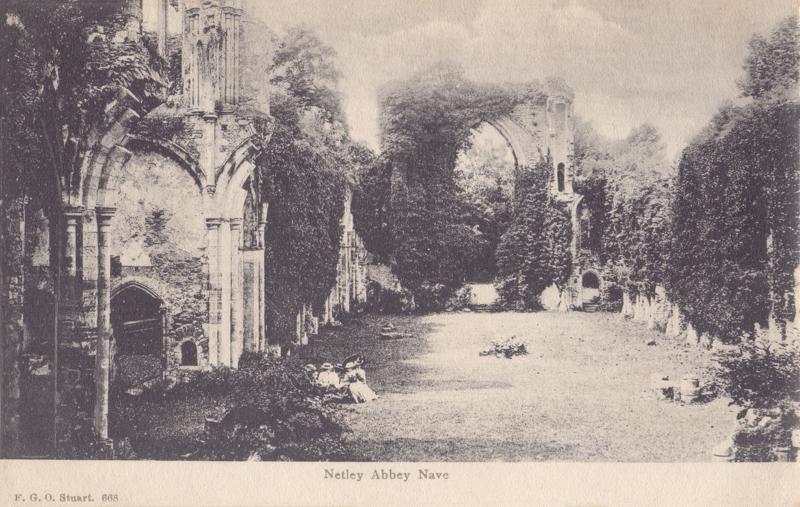 Netley Abbey Nave