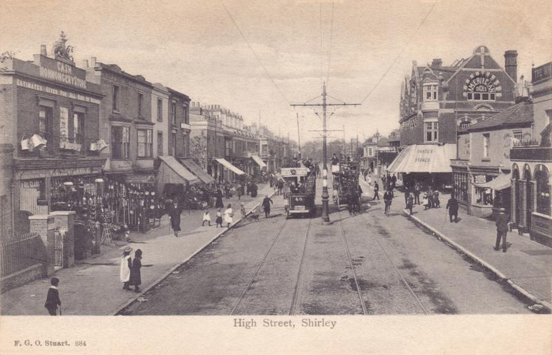 High Street, Shirley