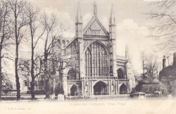 711  -  Winchester Cathedral, West Front