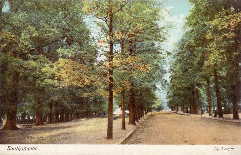 Southampton. The Avenue.