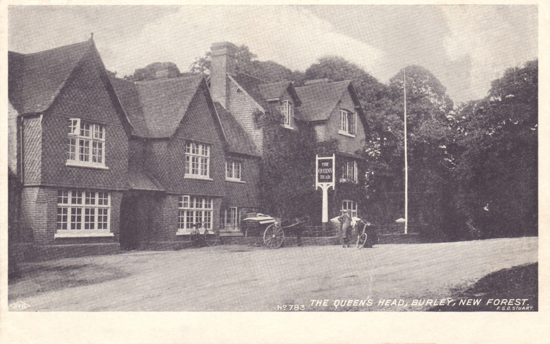 The Queens Head, Burley, New Forest