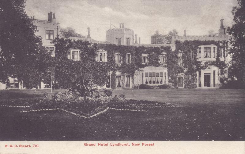 Grand Hotel, Lyndhurst, New Forest