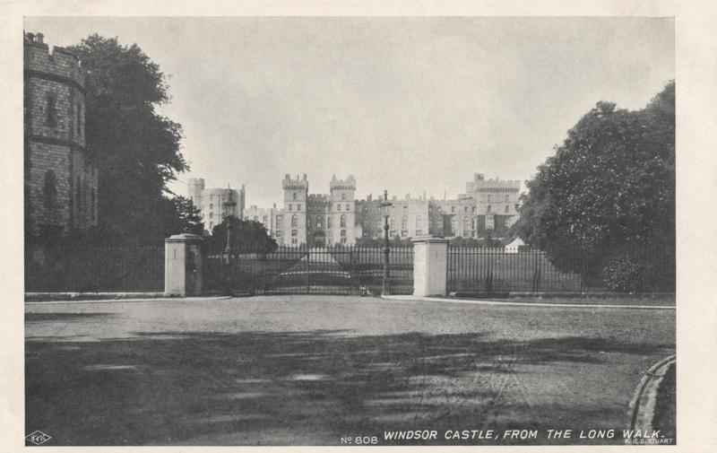 Windsor Castle from the Long Walk