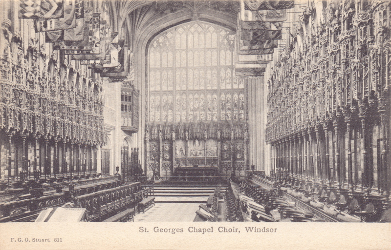 St Georges Chapel Choir, Windsor