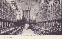 812  -  St George's Chapel Choir From East, Windsor