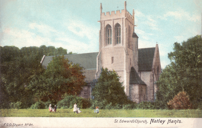 St Edward's Church, Netley, Hants