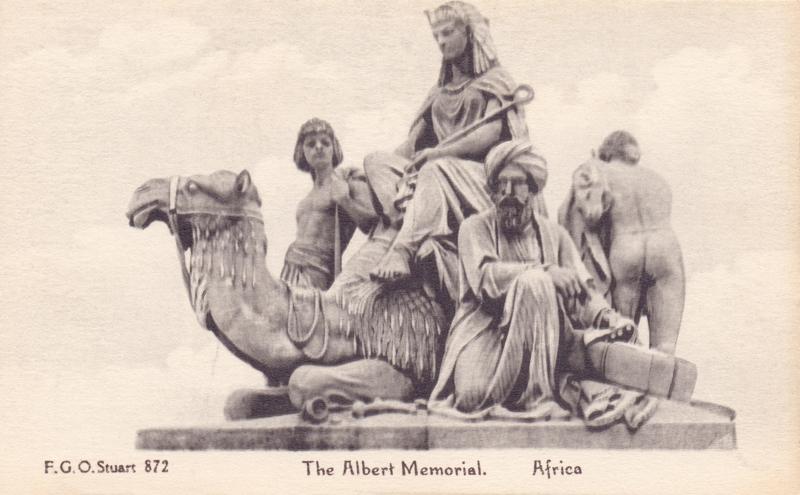 The Albert Memorial, Africa