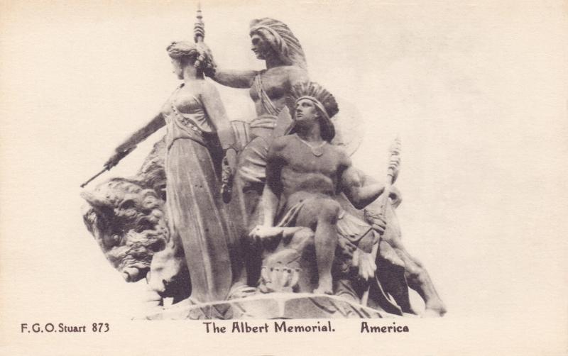 The Albert Memorial, America