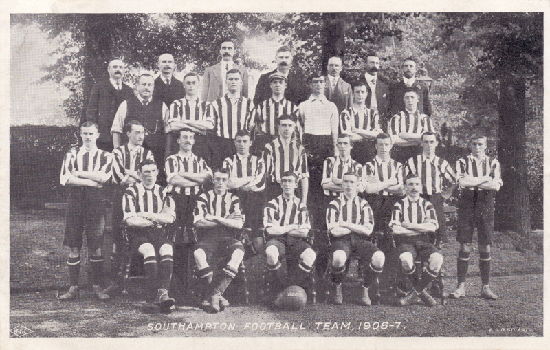 Southampton Football Team 1906-7