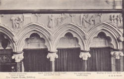 1463  -  The Chapter House, Salisbury