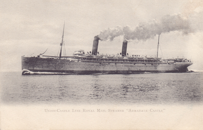 "Union-Castle Line Royal Mail Steamer ""Armadale Castle"""
