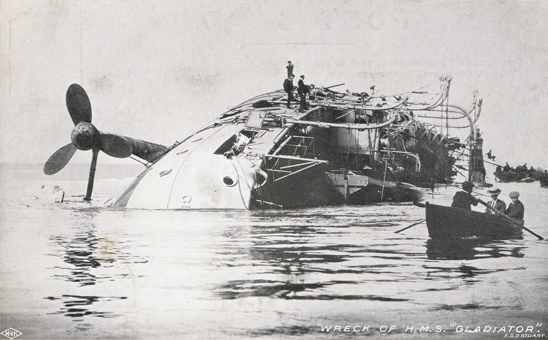 "Wreck of H.M.S. ""Gladiator"""