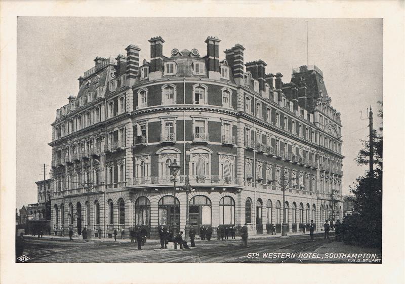 Sth Western Hotel, Southampton